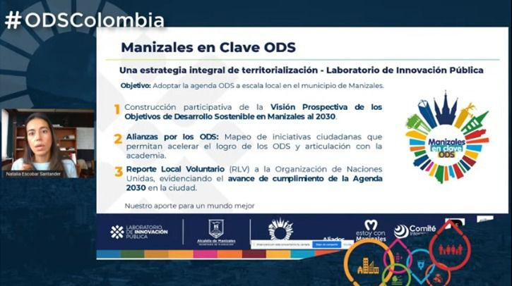 Manizales, modelo nacional por su compromiso con los Objetivos de Desarrollo Sostenible (ODS).