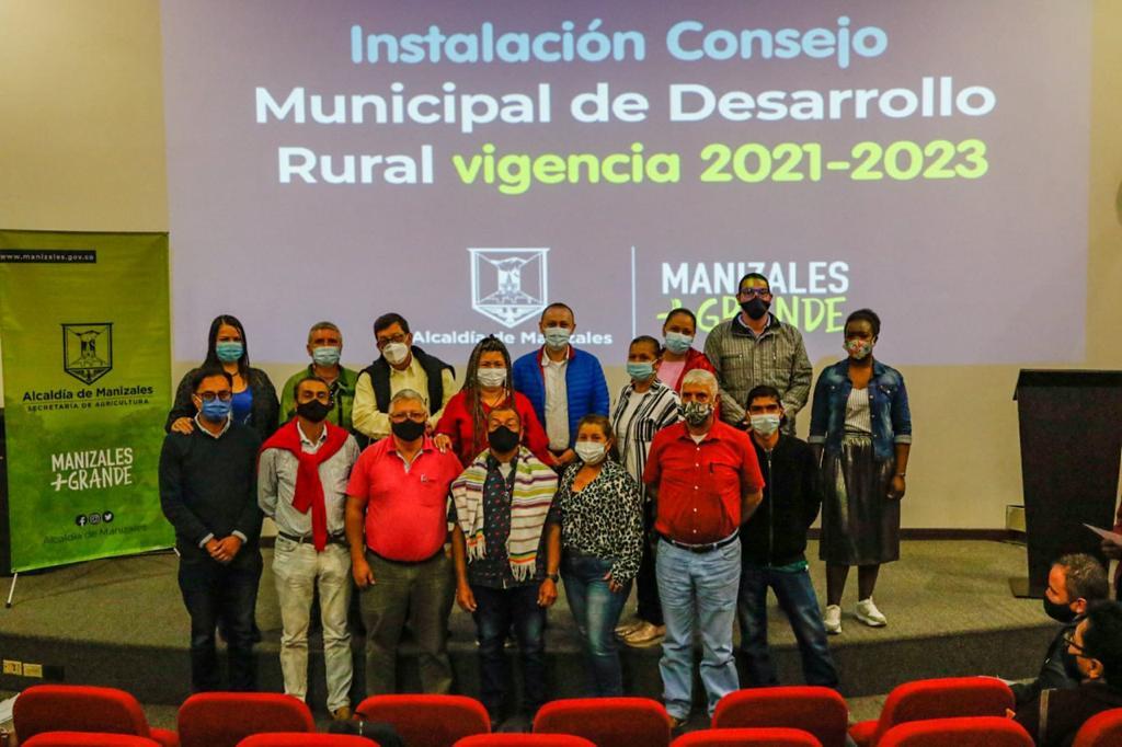 Manizales tiene 27 nuevos consejeros municipales de Desarrollo Rural.