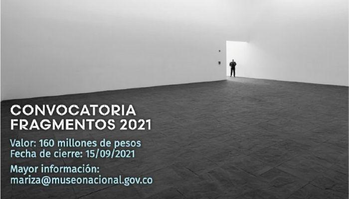 Participe en la convocatoria Fragmentos 2021