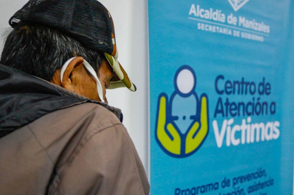 Primera jornada de la estrategia Oferta Institucional para las Víctimas del Conflicto atendió a 120 personas en Manizales.