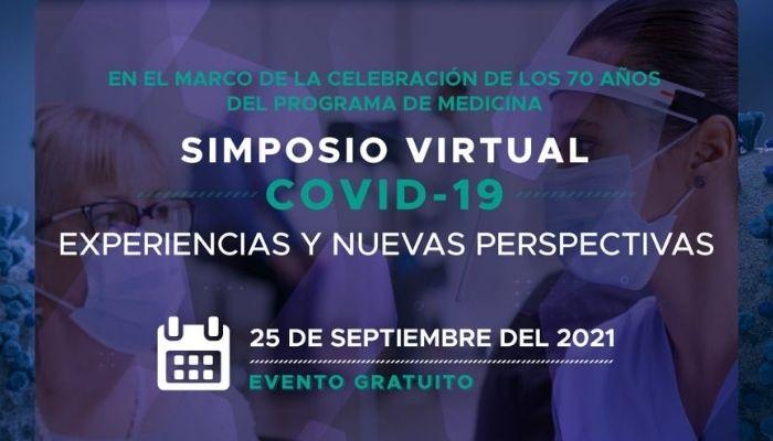 """Simposio virtual Covid-19 """"Experiencias y nuevas perspectivas"""""""
