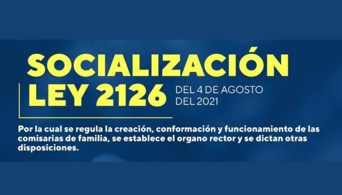 Socialización de la ley que otorga reconocimiento a los profesionales de Desarrollo Familiar
