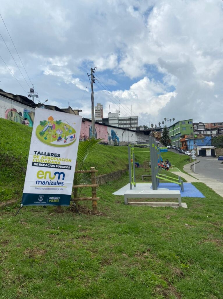 Taller de apropiación del espacio público en el barrio Cervantes