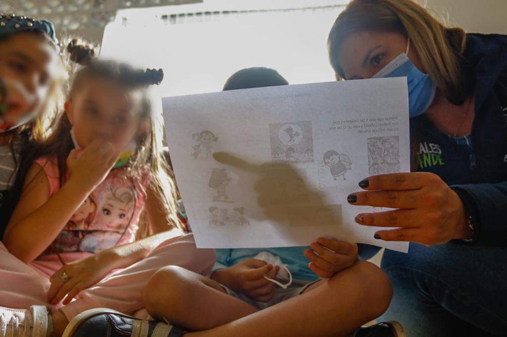 Trabajo y explotación sexual infantil, dos temas socializados por la Secretaría de Gobierno con niños de Aranjuez.