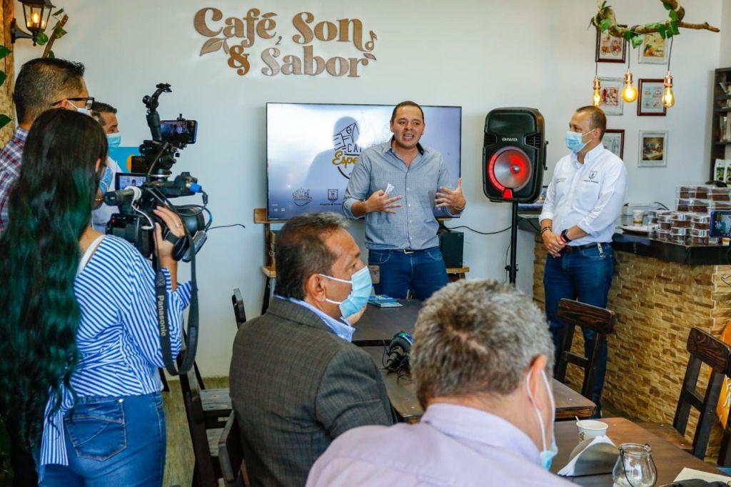 Un Manizaleño, el café local que la Alcaldía impulsa para beneficiar a sus productores, vendedores y consumidores.