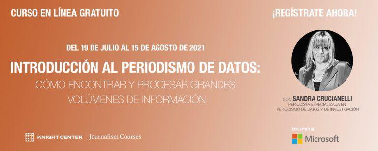 Curso autodirigido en español de periodismo de datos ya está disponible luego de que MOOC llegara a miles de periodistas de todo el mundo