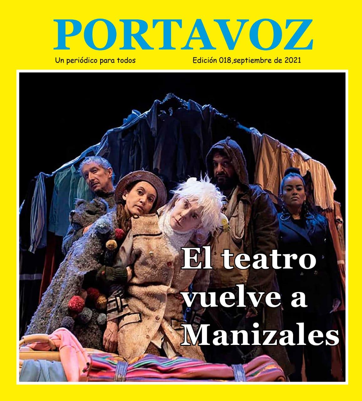 edición 018 del periódico PORTAVOZ